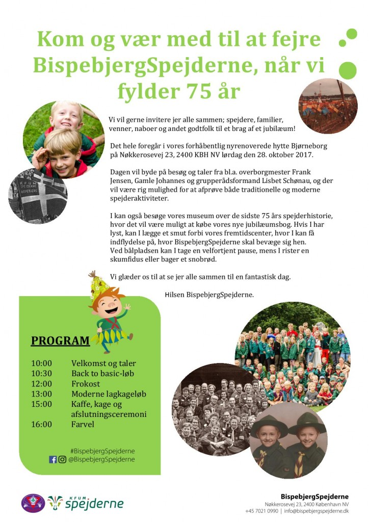 Endelig invitation 75 jubilæum